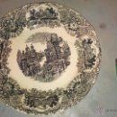 Antigüedades: PLATO LLANO PICKMAN CARTUJA SEVILLA. Lote 54750608