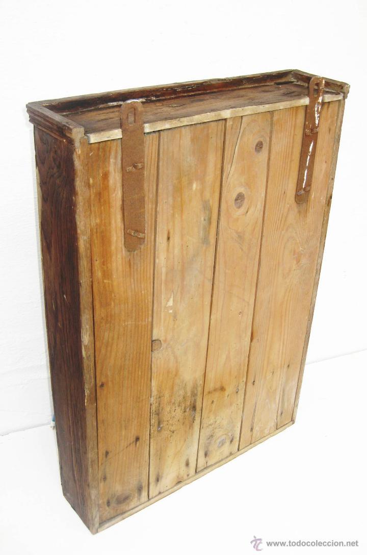 Maravilloso mueble nordico antiguo tipo botiqu comprar - Muebles antiguos para banos ...