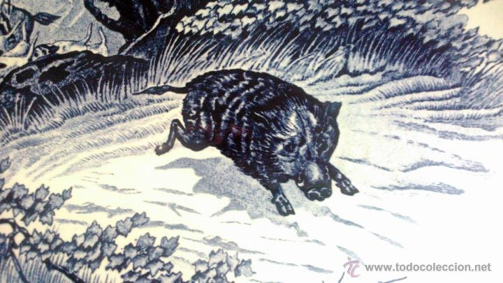 Antigüedades: ANTIGUO PLATO PORCELANA DELFT (BOCH) BÉLGICA - Foto 5 - 54755818