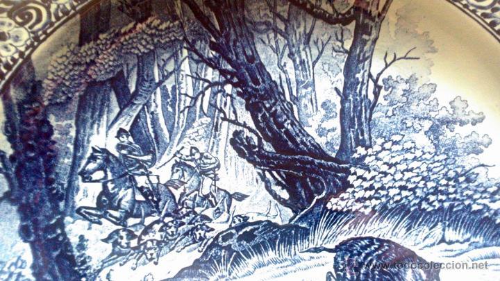 Antigüedades: ANTIGUO PLATO PORCELANA DELFT (BOCH) BÉLGICA - Foto 6 - 54755818