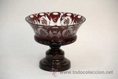 COPA-CRISTAL-BOHEMIA (Antigüedades - Cristal y Vidrio - Bohemia)