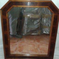 Antigüedades: ESPEJO DE PALMA DE CAOBA, SIGLO XIX. Lote 54773904