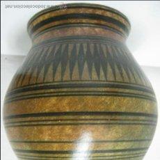 Antigüedades: ESPECTACULAR JARRON BUCARO CERAMICA MALLORCA FELANITX 403 - SELLO - PERFECTO. Lote 33075012