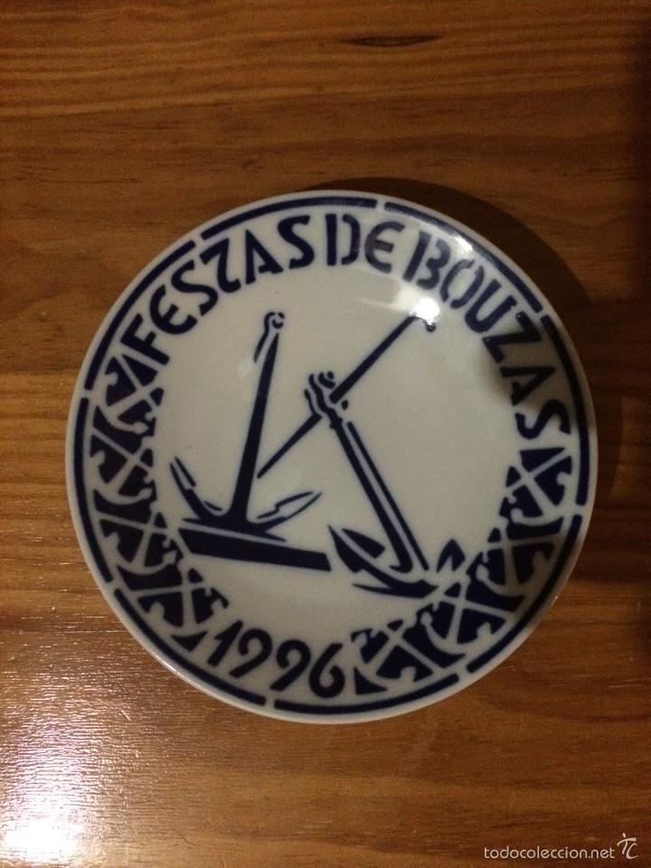 PLATO FIESTAS DE BOUZAS VIGO SARGADELOS NUMERADO (Antigüedades - Porcelanas y Cerámicas - Sargadelos)