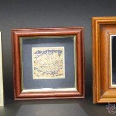 Antigüedades: LOTE DE 3 PLAFONES DAMASQUINADOS. TOLEDO-ESPAÑA. SIGLO XX.. Lote 53884758