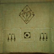 Antigüedades: JUEGO DE CAMA DE MATRIMONIO. ALGODÓN BORDADO A MANO. FIL TIRÉ. ESPAÑA.CIRCA 1920. Lote 53888306