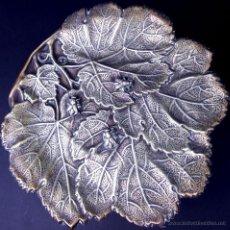 Antigüedades: PAREJA DE TRIPODES FRUTEROS. METAL PLATEADO. ART NOUVEAU. FRANCIA(?).CIRCA 1900. Lote 53300828