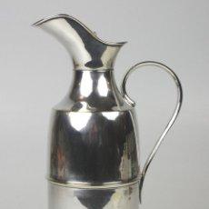 Antigüedades: JARRA TERMICA. METAL PLATEADO. ESPAÑA. SIGLO XX.. Lote 139585008