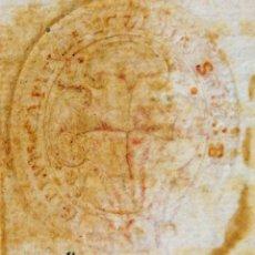 Antigüedades: DO-009 - BULA EPISCOPAL.POR EL VICARIO GENERAL DEL OBISPADO DE BARCELONA. BARCELONA 1797.. Lote 50423718