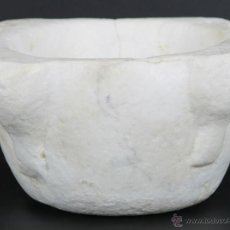 Antigüedades: MORTERO EN PIEDRA SIGLO XVIII-XIX. . Lote 54796961