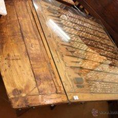 Antigüedades: ESPECTACULAR MESA TRILLO. RESTAURADA.. Lote 54802645