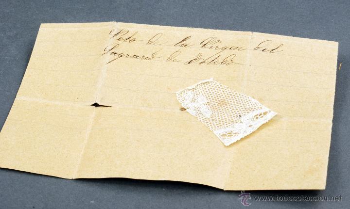 Antigüedades: Carnet baile souvenir tapas nácar interior forrado seda S XIX - Foto 7 - 54804646