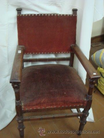 Sill n frailero sin restaurar comprar sillones antiguos en todocoleccion 54808411 - Sillones antiguos para restaurar ...