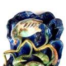 Antigüedades: MACETERO. LOZA ESMALTADA A MANO. ESTILO ART NOUVEAU. ESPAÑA. CIRCA 1900.. Lote 49198339