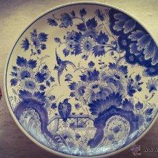 Antigüedades: PLATO DE CERÁMICA DELFT PINTADO A MANO. Lote 54809359