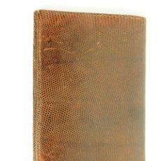 Antigüedades: CARTERA. PIEL DE SERPIENTE. CIRCA 1950.. Lote 46906588