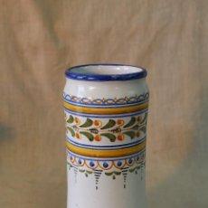 Antigüedades: JARRON - ALBARELO EN CERAMICA DE TALAVERA. Lote 54813903