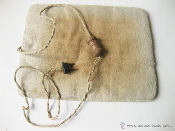 manta electrica antigua con interruptor de made   Comprar en