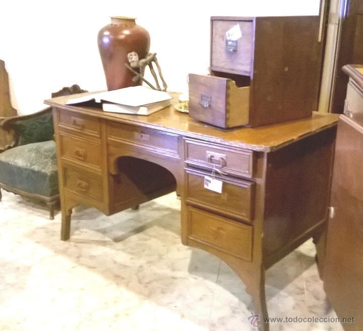 Antigua mesa despacho a restaurar comprar escritorios - Comprar muebles para restaurar ...