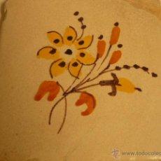 Antigüedades: BALDOSA CATALANA SIGLO XIX. Lote 54839989