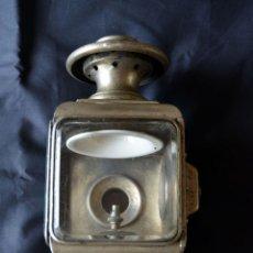 Antigüedades: FAROL DE ACETILENO PARA AUTOMÓVIL. FINALES SIGLO XIX MARCA BLERIOT, PARIS. COMPLETO.. Lote 54842738