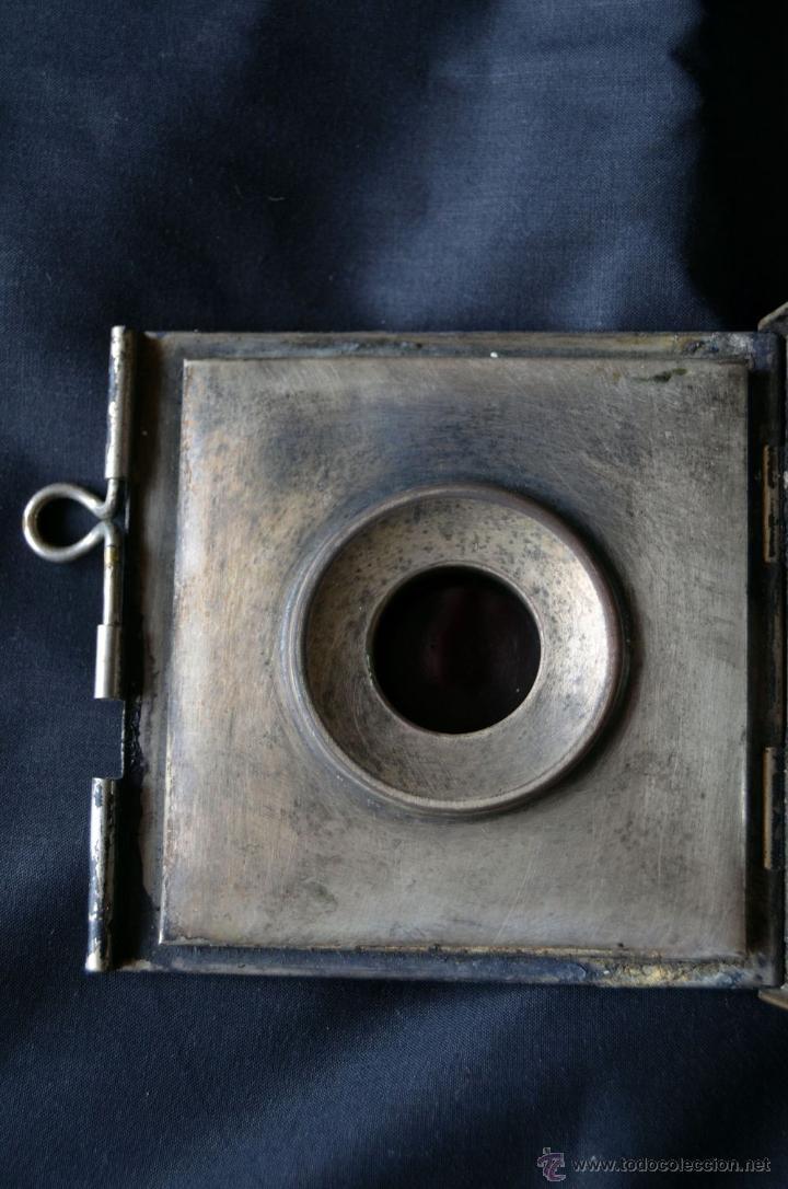 Antigüedades: Farol de acetileno para automóvil. Finales siglo XIX marca BLERIOT, Paris. Completo. - Foto 7 - 54842738