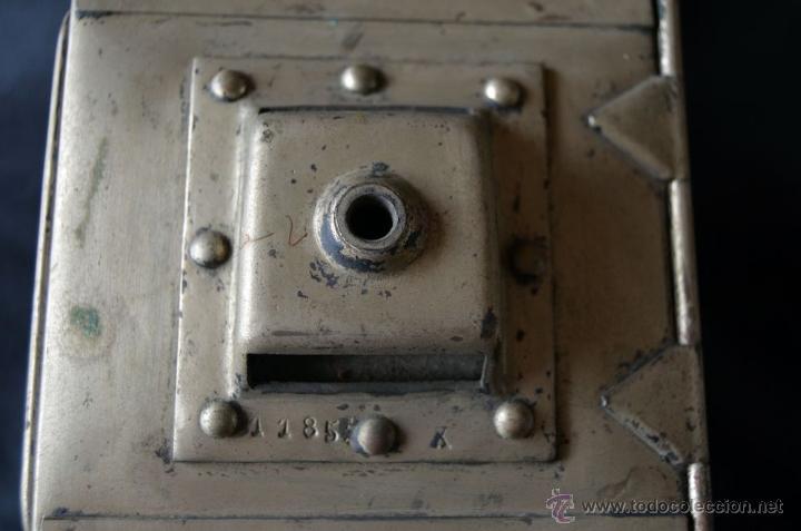 Antigüedades: Farol de acetileno para automóvil. Finales siglo XIX marca BLERIOT, Paris. Completo. - Foto 9 - 54842738