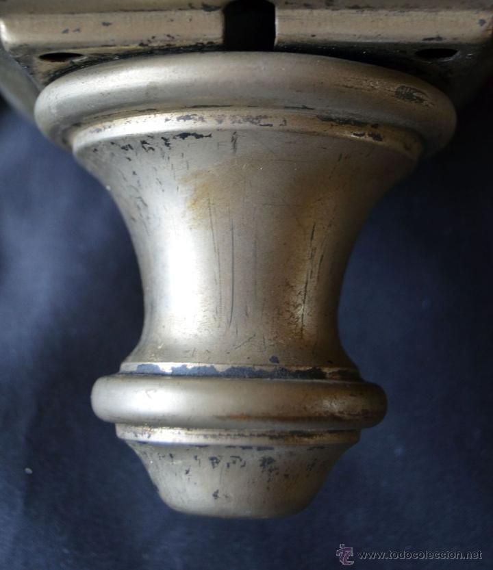 Antigüedades: Farol de acetileno para automóvil. Finales siglo XIX marca BLERIOT, Paris. Completo. - Foto 13 - 54842738