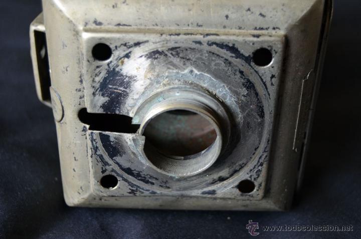 Antigüedades: Farol de acetileno para automóvil. Finales siglo XIX marca BLERIOT, Paris. Completo. - Foto 14 - 54842738