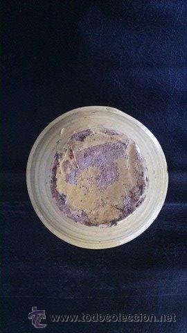 Antigüedades: Mortero de barro vidriado de amarillo - Foto 6 - 54849560