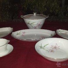 Antigüedades: ANTIGUO COJUNTO DE PORCELANA ROYAL CHINA VIGO.. Lote 54853266