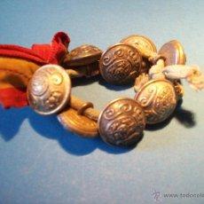 Antigüedades: ATADO DE BOTONES DE LA GUARDIA CIVIL , TAMAÑO PEQUEÑO . ALFONSO XIII . E. MUÑOZ. BEJAR .. Lote 54856342