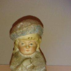 Antigüedades: FIGURA DE PORCELANA BISCUIT. Lote 54868695