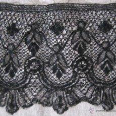 Antigüedades: ANTIGUO BAJO DE ENCAJE DE BOLILLO S. XIX. Lote 54870607
