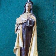 Antigüedades: FIGURA DE SANTA TERESA DE JESÚS. Lote 54871431