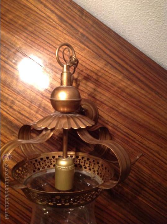 Antigüedades: FAROL DE TECHO LAMPARA - Foto 5 - 54881734