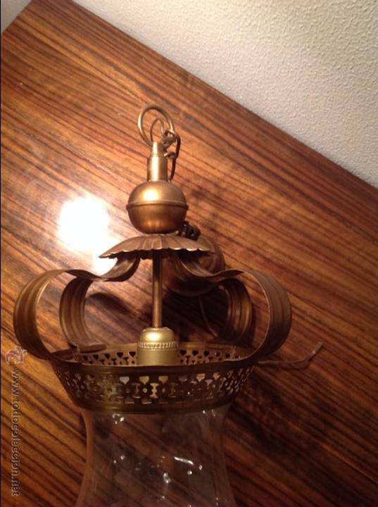 Antigüedades: FAROL DE TECHO LAMPARA - Foto 6 - 54881734