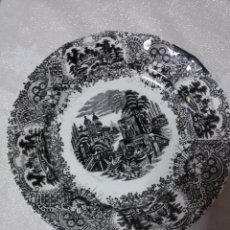 Antigüedades: PLATO PICKMAN-LA CARTUJA-20 CM. Lote 54886905
