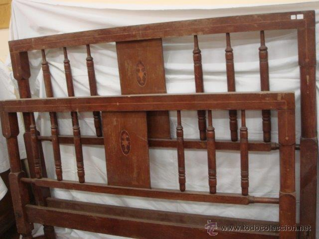 cama marqueteria i nacar (para restaurar) - Comprar Camas Antiguas ...