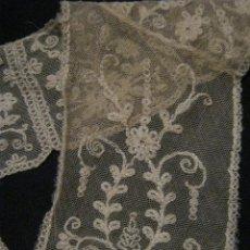 Antigüedades: ANTIGUA PIEZA DE ENCAJE TAMBOR PPIO. S. XX. Lote 54909122