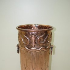 Antigüedades: PARAGUERO ANTIGUO DE COBRE. Lote 54909364