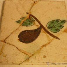 Antigüedades: BALDOSA CATALANA SIGLO XIX. Lote 54919114