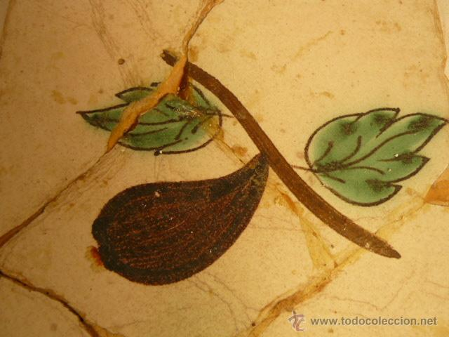 Antigüedades: BALDOSA CATALANA SIGLO XIX - Foto 2 - 54919114