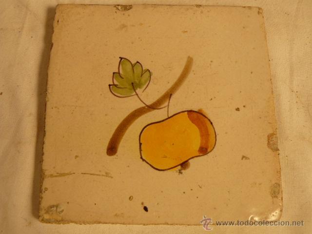 BALDOSA CATALANA SIGLO XIX (Antigüedades - Porcelanas y Cerámicas - Catalana)