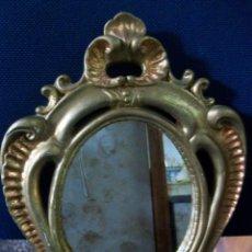 Antigüedades: ANTIGUA CORNUCOPIA-ESCAYOLA Y PAN DE ORO-ESPEJO ENVEJECIDO. Lote 54925627