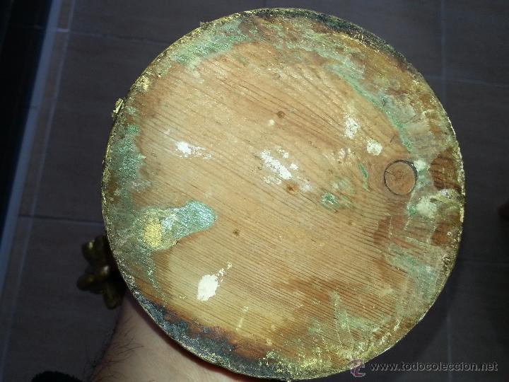 Antigüedades: ANTIGUO RELICARIO DE LA SANTA FAZ Y LA DOLOROSA EN MADERA TALLADA FINALES S. XIX - Foto 16 - 54925814