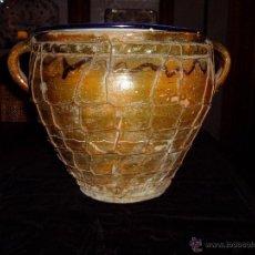 Antigüedades: OLLA CATALANO-ARAGONESA ENREJADA. Lote 54934819