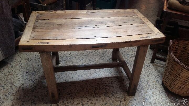 Mesa antigua rustica comprar mesas antiguas en for Mesas antiguas rusticas