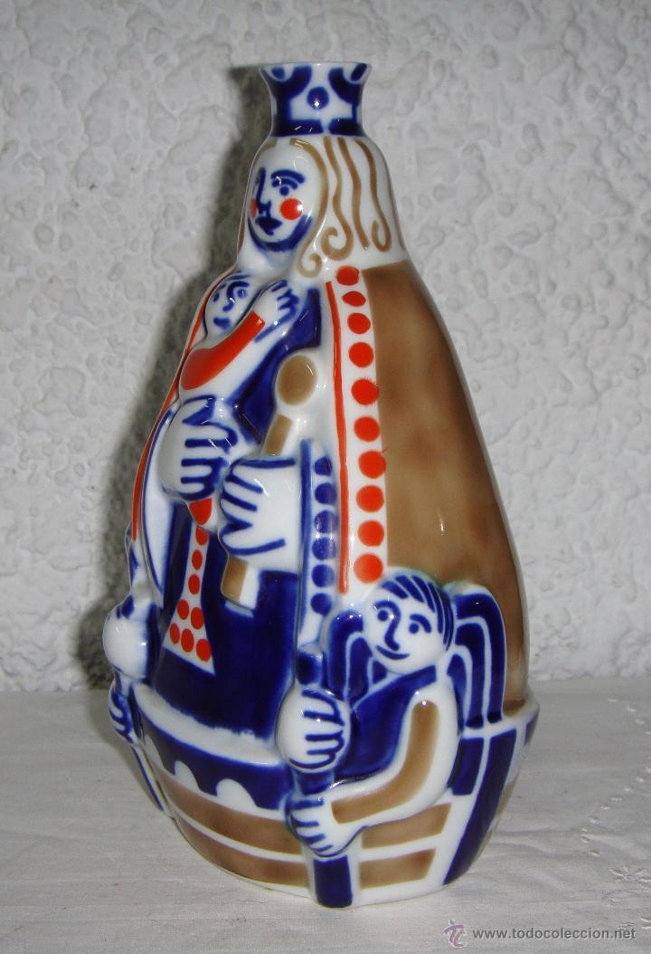 Antigüedades: Cerámica de Sargadelos. Virgen. Nosa Señora da Barca. Numerada, solo hay 1000 piezas. Descatalogada. - Foto 2 - 54946106