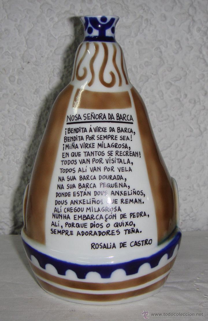 Antigüedades: Cerámica de Sargadelos. Virgen. Nosa Señora da Barca. Numerada, solo hay 1000 piezas. Descatalogada. - Foto 3 - 54946106